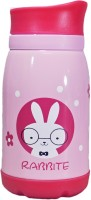 Babysid Collections Insulated Kids Bottle- Pink Cat 260 Ml Flask (Pack Of 1, Multicolor)