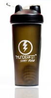 THUNDERFIT FITNESS EXECUTIVE PROTIEN CUP 750 Ml Shaker, Sipper, Bottle (Pack Of 1, Black)