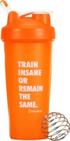Ishake Crossfit Orange 600 Ml Bottle (Pack Of 2, Orange)