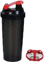 Dyeg Speed Spider Shaker 500 Ml Sipper (Pack Of 1, Red, Black)
