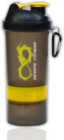 Infinite Fitness Compound Shaker 500 Ml Sipper (Pack Of 1, Yellow Soot)