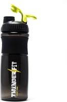 THUNDERFIT Multipurpose 750 Ml Bottle, Shaker, Water Bag, Sipper, Flask, Bottle Cage (Pack Of 1, Black)