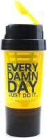 My 60 Minutes Gym Shaker 500 Ml Bottle (Pack Of 1, Yellow)