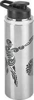 Jaipan JPSBS900 600 Ml Bottle (Pack Of 1, Silver, Black)