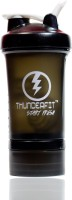 THUNDERFIT FITNESS POWER PROTIEN CUP 750 Ml Shaker, Sipper, Bottle (Pack Of 1, Black)