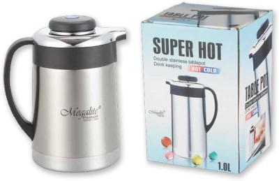 MegaLite Coffee Pot 1000 Ml Flask (Pack Of 1, Steel)