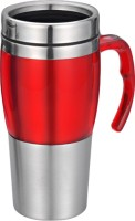 DIZIONARIO SIPPER WITH HANDLES 480 Sipper (Pack Of 1, Red)