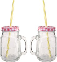 Favola Clear 500 Ml Sipper (Pack Of 2, Clear)
