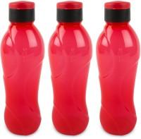 Cello Splash Flip 1000 Ml Bottle (Pack Of 3, Red)
