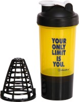 IShake Hurricane 500 Ml Bottle (Pack Of 1, Yellow)