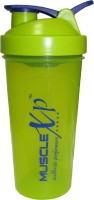MuscleXP Neon Bottle With Stainer + Wire Ball - Design 4 700 Ml Shaker (Pack Of 1, Green)