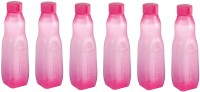 Nayasa Rock Bottle (Pack Of 6) Pink Color 1000 Ml Bottle (Pack Of 6, Pink)