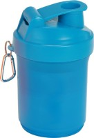 FIT24 FITNESS Shakebottle 600 Ml Shaker (Pack Of 1, Blue)
