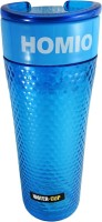 Homio Bubble Design Shaker B 450 Ml Bottle (Pack Of 1, Blue)