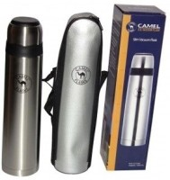 Camel Slim 750 Ml Flask (Pack Of 1, Silver)