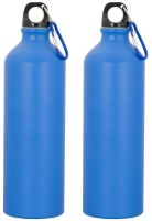 GADGE SPORTS BOTTLE MATT BLUE 750 Ml Sipper (Pack Of 2, Blue)