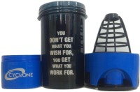 BIG MUSCLE Protein 500 Ml Shaker (Pack Of 1, Black, Blue)
