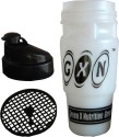 GXN Protein Shaker 946 ml Bottle - White,Black