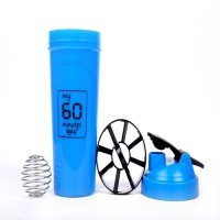 Foolzy My 60 Minutes Workout Gym Shaker 700 Ml Bottle (Pack Of 1, BLUE)