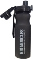 Big Muscle Blizzard Black 600 Ml Shaker (Pack Of 1, Black)