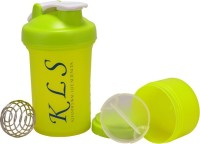 KLS Protein Shaker 600 Ml Sipper (Pack Of 1, Green)