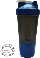 UDAK One Storage Loop 500 Ml Bottle, Shaker, Sipper (Pack Of 1, Blue)