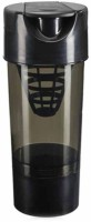 Eworld Cyclone Gym Shaker 500 Ml Bottle (Pack Of 1, Black)