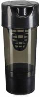 Eworld Cyclone Gym Shaker 500 Ml Bottle (Pack Of 1, Black)
