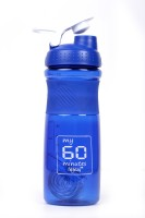 My 60 Minutes Gym Shaker 760 Ml Bottle (Pack Of 1, Blue)