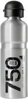 Btwin Aluminium Water Bottle 750 Ml Bottle (Pack Of 1, Silver)