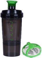 UDAK Speed Gym Shaker 500 Ml Bottle, Shaker, Sipper (Pack Of 1, Green)