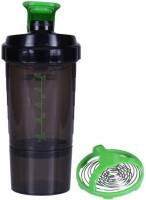 UDAK Speed Gym Shaker 500 Ml Bottle, Shaker, Sipper (Pack Of 1, Green)