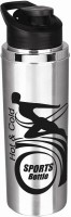 Amrut Sports Back 900 900 Ml Sipper (Pack Of 1, Silver, Black)