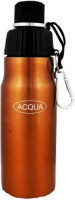 Acqua Sports Water Bottle 600 Ml Flask (Pack Of 1, Golden)