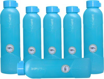 Harshpet Fridge Bottle- Alpha Blue 1000 Ml Bottle (Pack Of 6, Blue)
