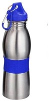 Aptron Unique Curved 600 Ml Bottle (Pack Of 1, Blue)