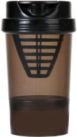 Shopitude Shaker 500 Ml Sipper (Pack Of 1, Black)