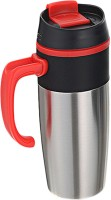 DIZIONARIO RUBBER GRIP SIPPER WITH HANDLE 500 Sipper (Pack Of 1, Red)