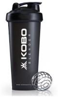 KOBO SHAKER SIPPER BLENDER BOTTLE (IMPORTED) 600 Ml Shaker, Bottle, Sipper (Pack Of 1, White)