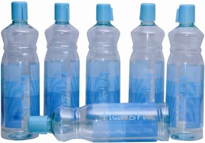 Harshpet Fridge Bottle- Rainbow Blue 1000 Ml Bottle (Pack Of 6, Blue)