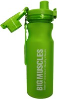 Big Muscle Blizzard Green 600 Ml Shaker (Pack Of 1, Green)