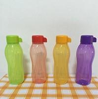 Tupperware Aquasafe Water 310 Ml Bottle Pack Of 4, Green, Red, Orange, Purple