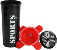 Me Swastik SIPPER 600 Ml Sipper, Bottle (Pack Of 1, BLACK, RED)