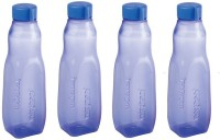 Nayasa Rock Bottle Voilet Color 4 Bottle 1000 Ml Bottle (Pack Of 4, Voilet)