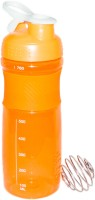 Excel Crafts Blender Shaker Orange 760 Ml Bottle, Sipper (Pack Of 1, Orange)