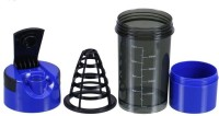 Dyeg Cyclone Shaker 500 Ml Sipper (Pack Of 1, Black, Blue)