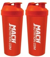 Mach Nutrition PP5PP5 650 Ml Shaker, Bottle (Pack Of 2, Red)