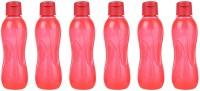 Ratan Plastics All Fresh PP 500 Ml Bottle (Pack Of 6, Red)