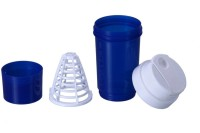Dyeg Tornado Shaker 500 Ml Sipper (Pack Of 1, Blue, White)