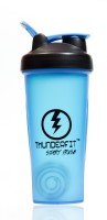 THUNDERFIT Slim Design 750 Ml Sipper, Bottle, Shaker, Water Bag, Flask, Bottle Cage (Pack Of 1, Blue)
